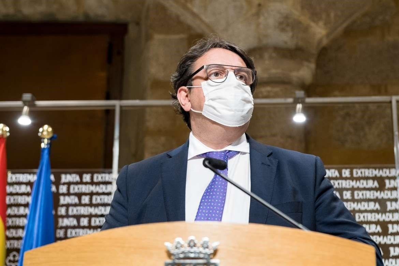 Seis localidades de Extremadura entrarán en aislamiento perimetral a partir del jueves