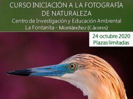Cursos sobre ornitologia, fotografía y trabajos de campo en Montánch