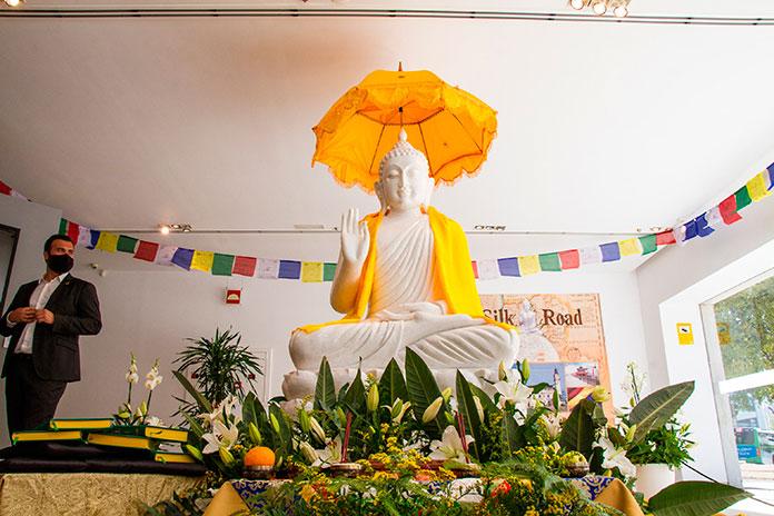 Un grupo de trabajo para velar sobre la evolución del complejo budista de Cáceres