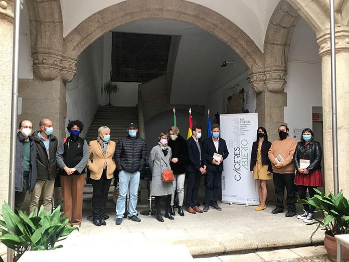 El arte contemporáneo vuelve a la ciudad con 'Cáceres Abierto' esta primavera