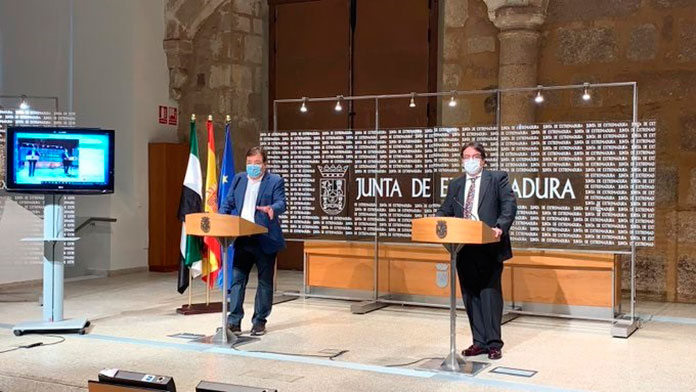 La Junta pide la declaración del estado de alarma en Extremadura
