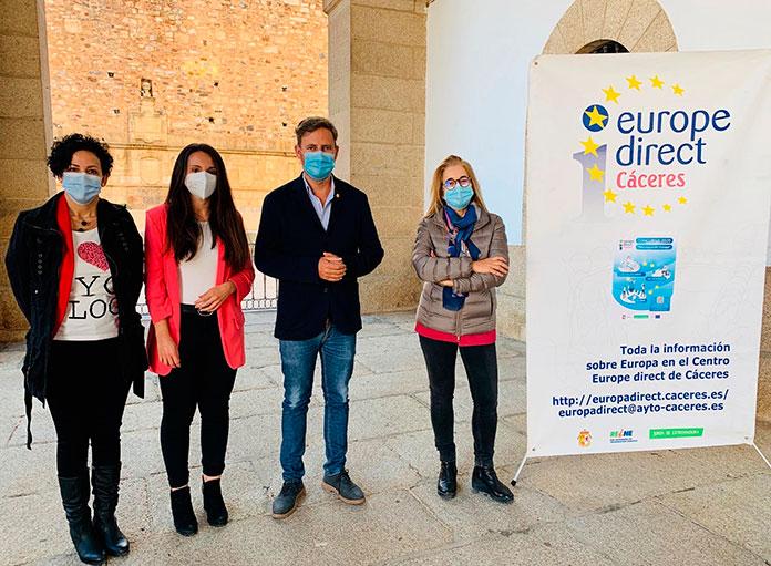 Abierta la convocatoria de los premios del Centro Europe Direct de Cáceres