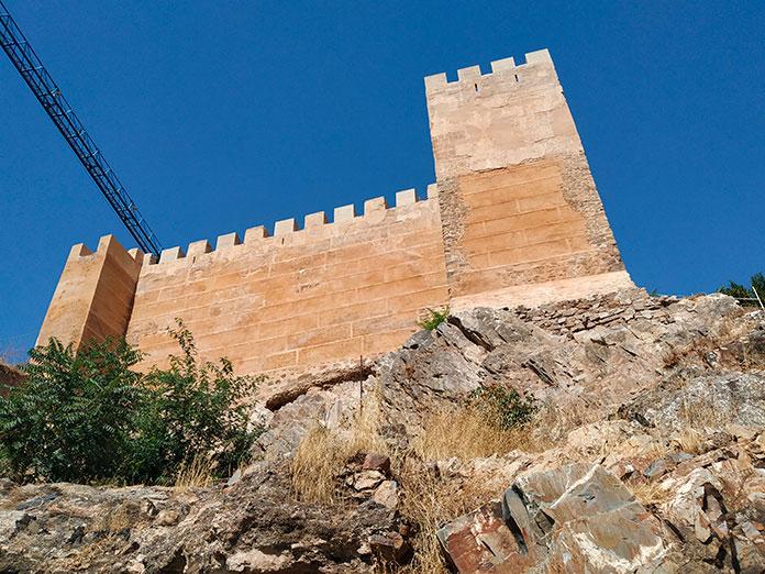 La primera fase de rehabilitación de la muralla estará lista para finales de año