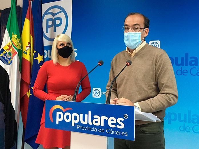 El PP pide al Ayuntamiento de Cáceres certezas sobre la situación sanitaria
