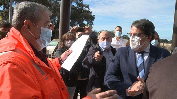 Protestas de médicos en Navalmoral de la Mata por la contratación de profesionales sin título homologado