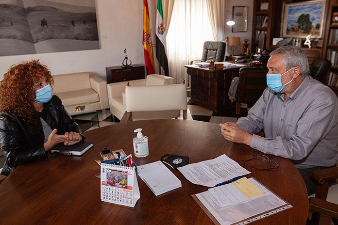 Diputación de Cáceres y REDEX, unidos por el desarrollo territorial