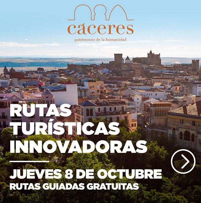 Tres rutas para descubrir Cáceres: la Modernista, la Musulmana y la de los Miradores