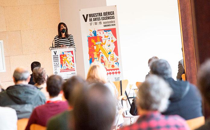 Comienza una edición híbrida, entre lo virtual y lo presencial, de la Muestra Ibérica de Artes Escénicas