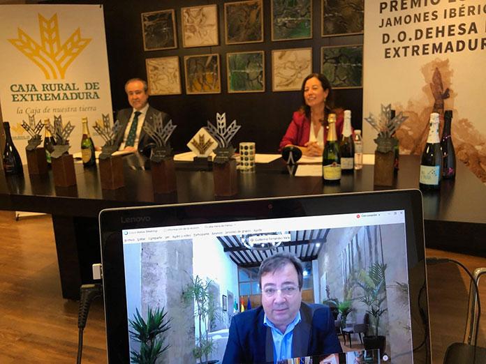 Embutidos Mota y 'Extrem' de Bonaval, premios con los Premios al mejor jamón y cava con DO