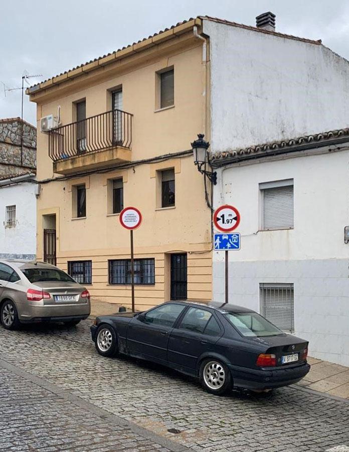 Prohibido el tráfico desde la calle San Ildefonso a la Ciudad Monumenta