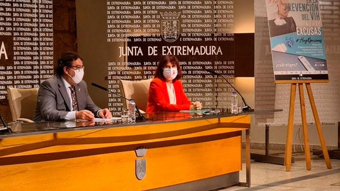 Vergeles apunta que la incidencia en Extremadura está por debajo de la media nacional