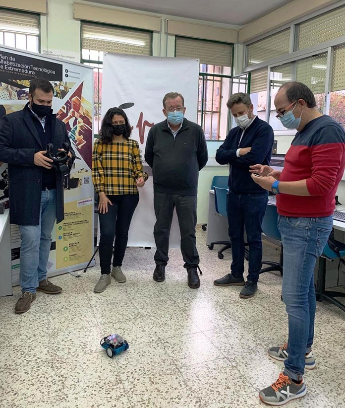 Talleres para tareas administrativas digitales en el NCC de Cáceres