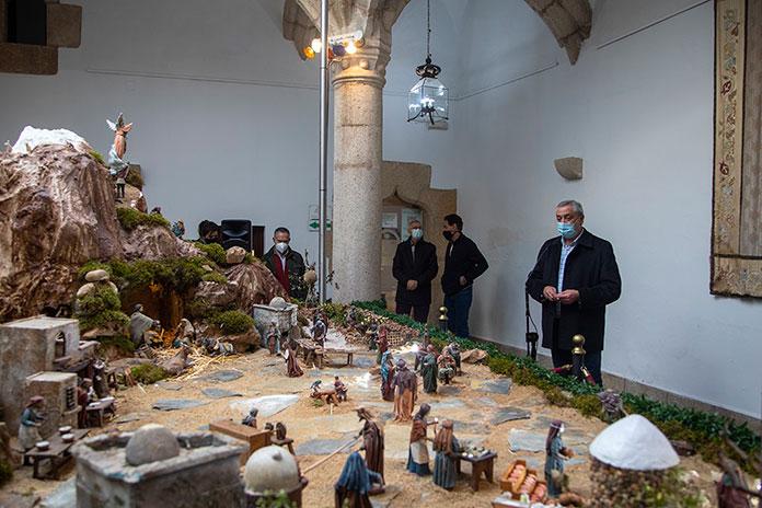 El Belén del Palacio de Carvajal abre con aforo limitado