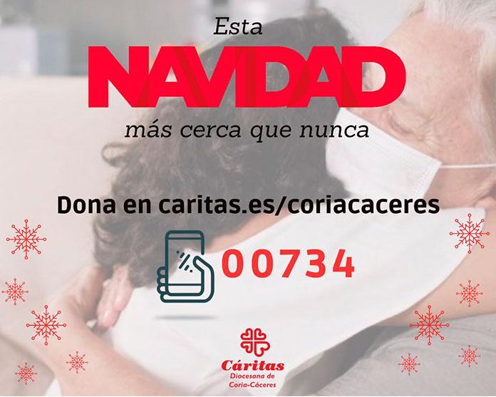 Cáritas Diocesana de Coria-Cáceres atiende a un 40% más de personas que durante el 2019