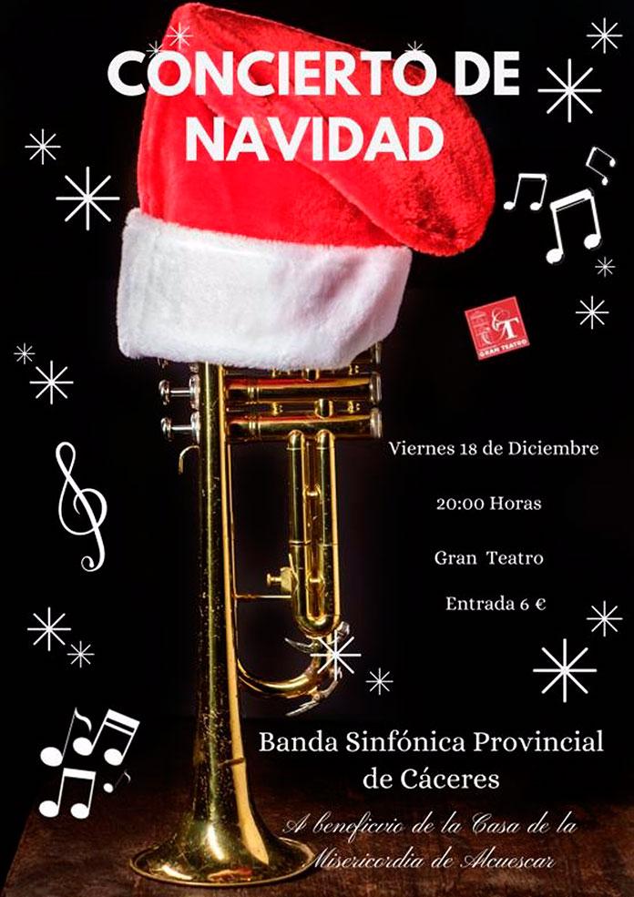 El Gran Teatro de Cáceres acoge el Concierto de Navidad