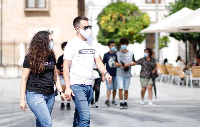 Más de nueve mil denuncias por no llevar la mascarilla en Extremadura