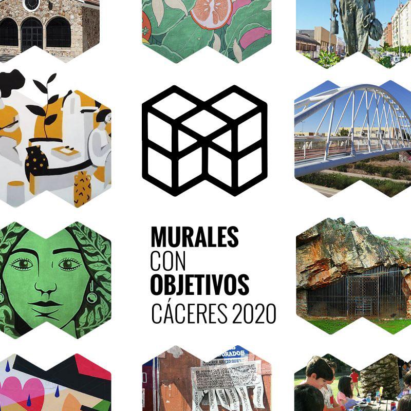 Murales con Objetivos en Cáceres, el compromiso del arte urbano