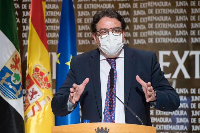 El hospital de campaña de Badajoz estará listo en dos semanas