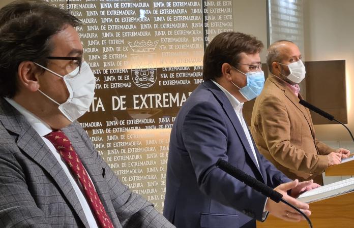 Cierre perimetral de los municipios en Extremadura