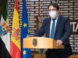 Vergeles descarta el confinamiento en Extremadura