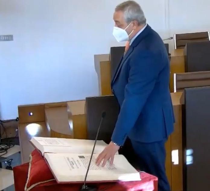 Carlos Carlos Rodríguez, nuevo presidente de la Diputación de Cáceres