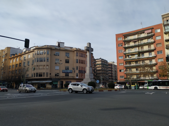 El Ayuntamiento de Cáceres nos logra un acuerdo sobre la Cruz de los Caídos
