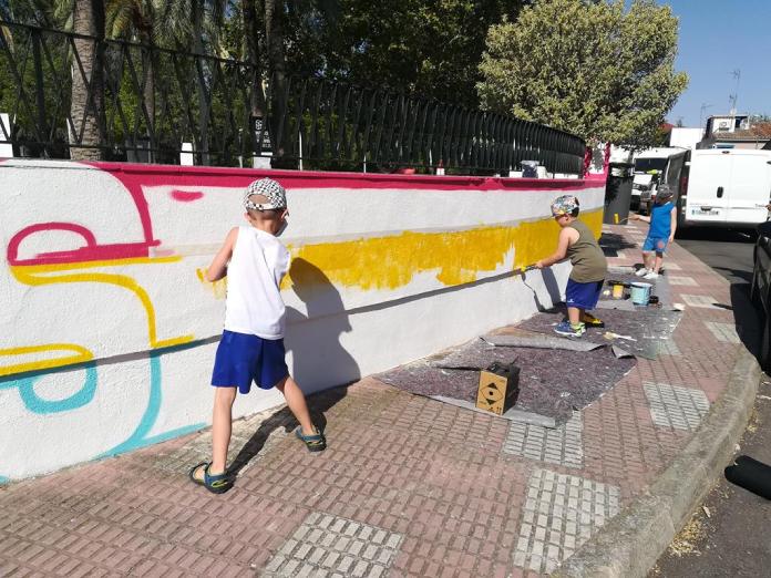 Llopis lucha por la igualdad con Murales con Objetivos