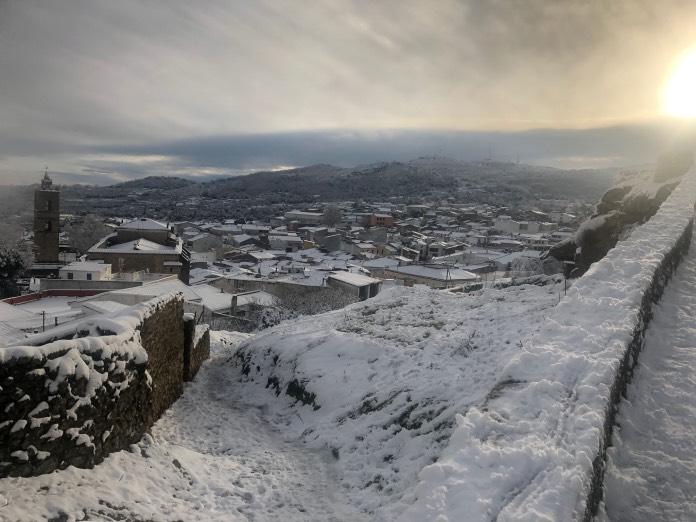 Las 10 mejores estampas nevadas de Filomena en Extremadura