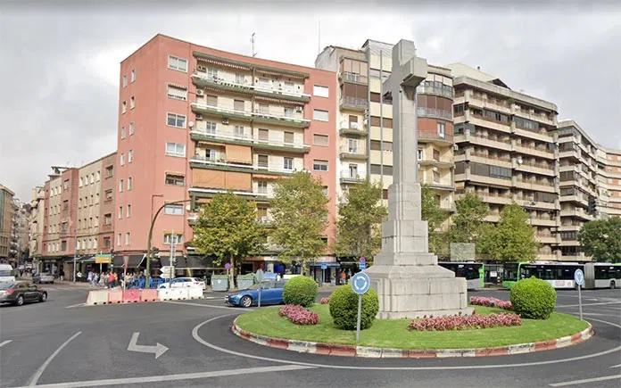 Amececa pide a la Junta la retirada de la 'Cruz de los Caídos' de Cáceres