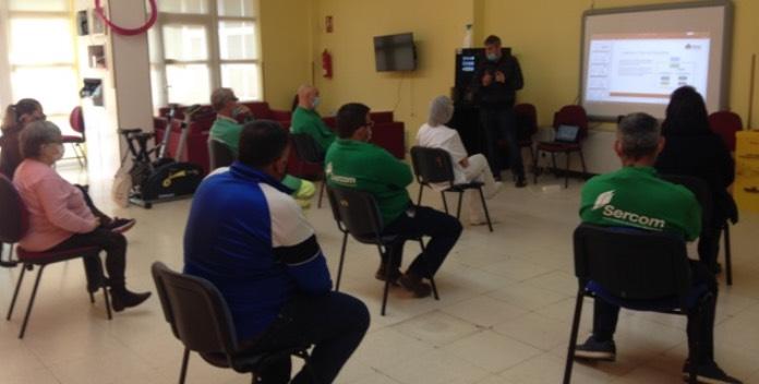 Plena inclusión Extremadura forma a 2.800 personas en riesgos laborales