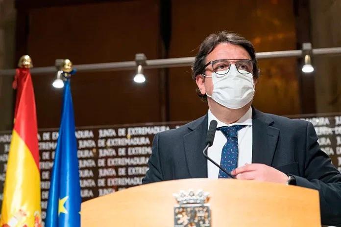 Vergeles anuncia medidas más drásticas para Extremadura