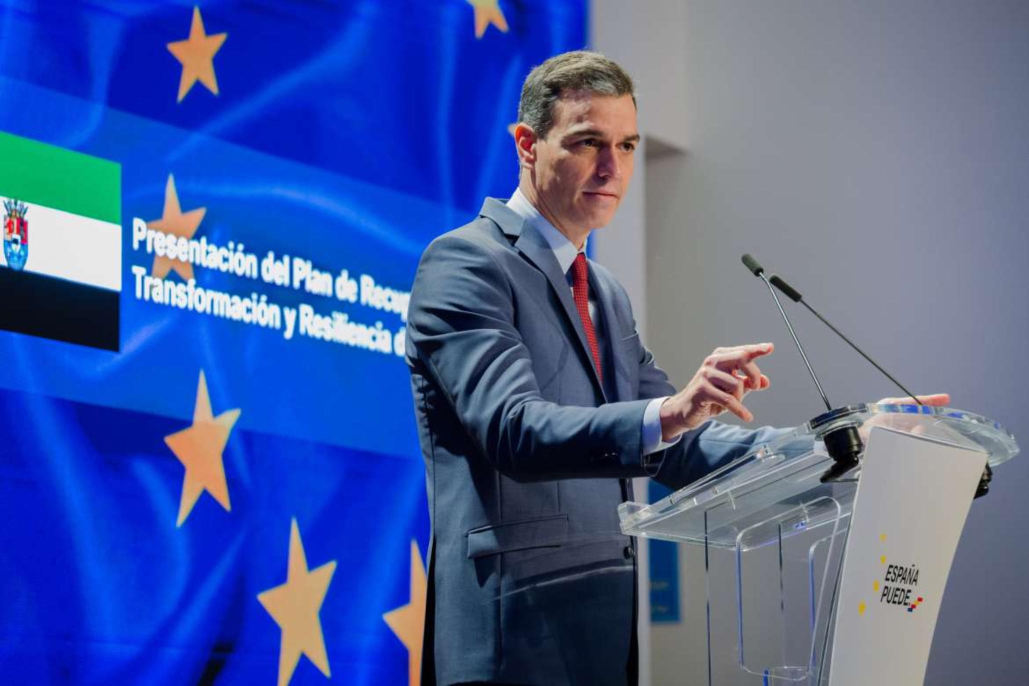 Pedro Sánchez resalta el papel de Extremadura en la