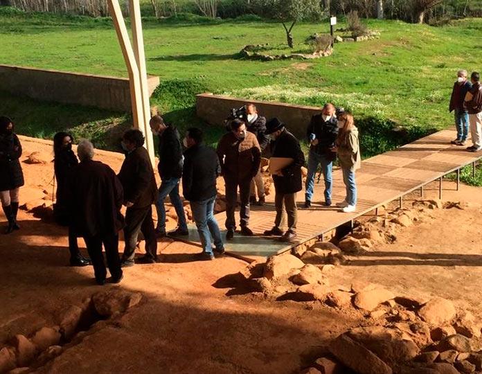 Rehabilitan el centro de Interpretación de Cancho Roano