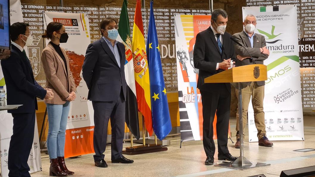 Extremadura será un referente en la Vuelta Ciclista a España en 2021