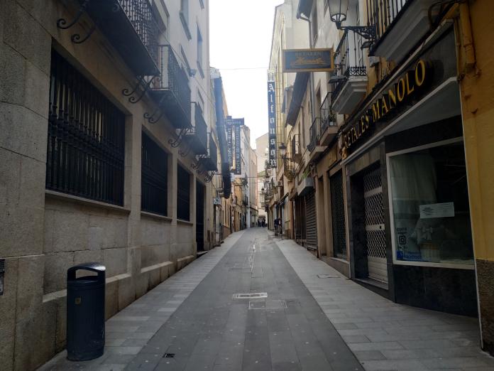 La incidencia de Cáceres cae a 86 casos