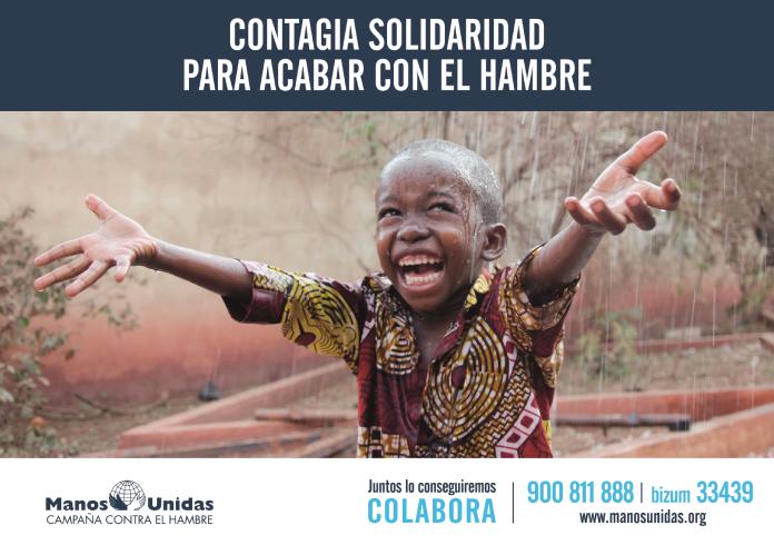 Contagia solidaridad para acabar con el hambre, la nueva campaña de Manos Unidas