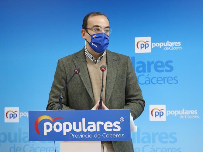 El PP considera que las cuentas de Cáceres son improvisadas