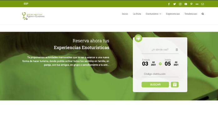 La Ruta del Vino y Cava Ribera del Guadiana estrena web