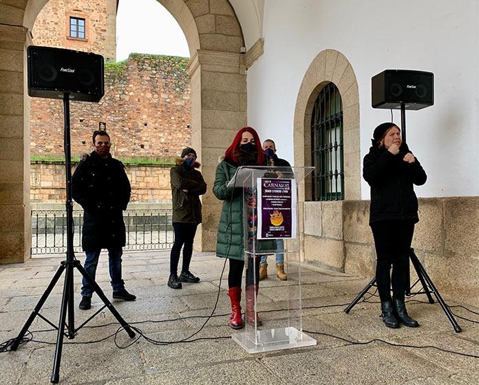 Cáceres celebra el Carnaval de 2021 online