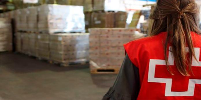 Cruz Roja reparte alimentos a 23.813 personas