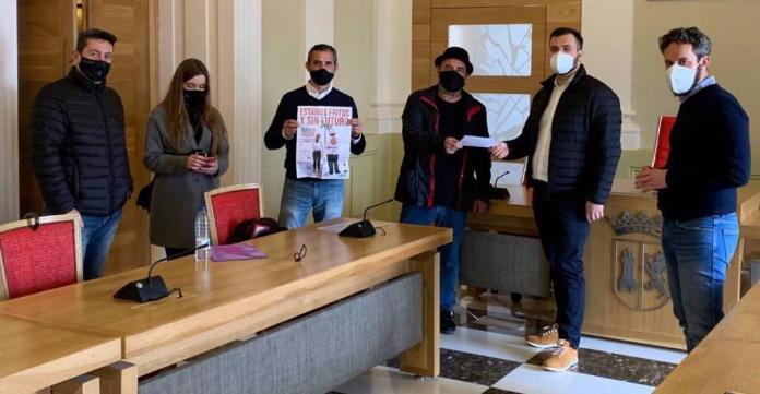 Luis Salaya apoya a la hostelería en su petición de una hoja de ruta para la reapertura