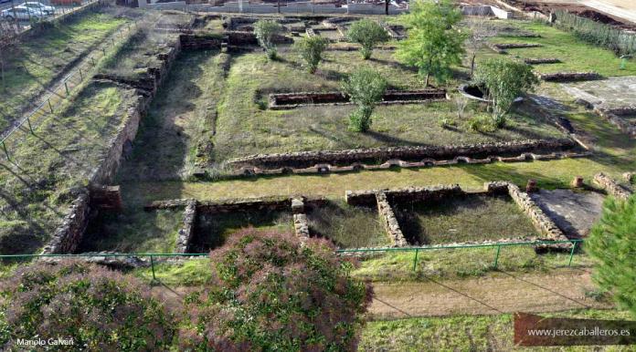 La domus romana El Pomar, en Jerez de los Caballeros, declarada Bien de Interés Cultural