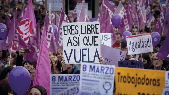 Diez concentraciones para conmemorar el Día de la Mujer en Extremadura