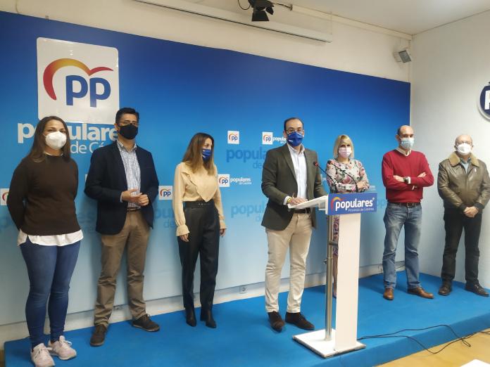 El PP de Cáceres reclama más ayudas a pymes y autónomos al Ayuntamiento
