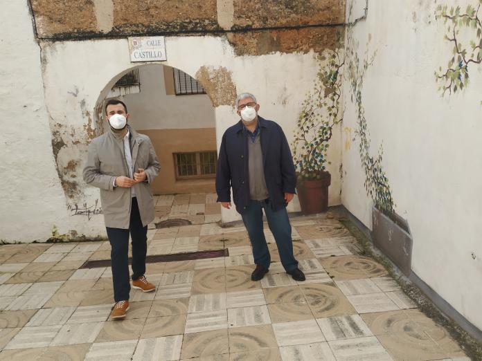 Comienzan las obras de rehabilitación en la calle Castillo