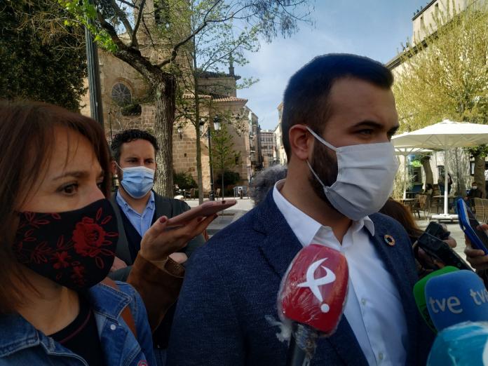 Luis Salaya anuncia que dimitirá si sale adelante el proyecto de la mina de Valdeflores