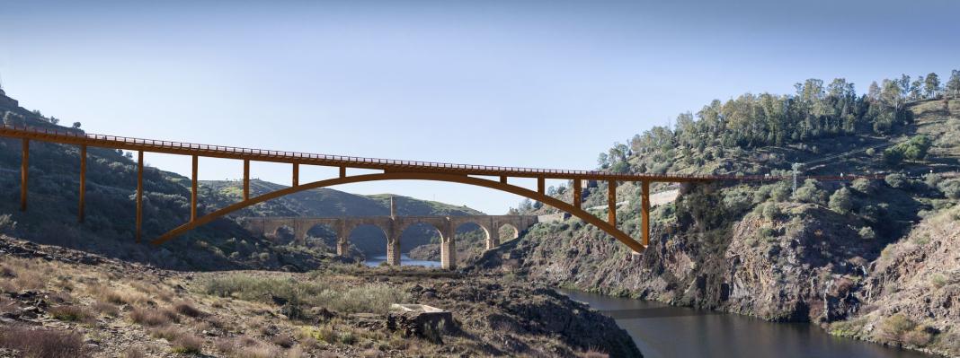 Presentado el proyecto del nuevo puente de Alcántara
