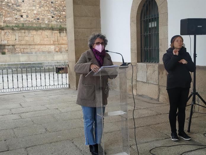 Cáceres no celebrará manifestaciones el 8M