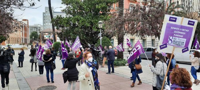 CCOO reivindica la igualdad real en Badajoz