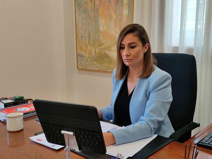 La extremeña Lara Garlito, vicepresidenta del Grupo Socialista del Congreso de Poderes Locales y Regionales del Consejo de Europa